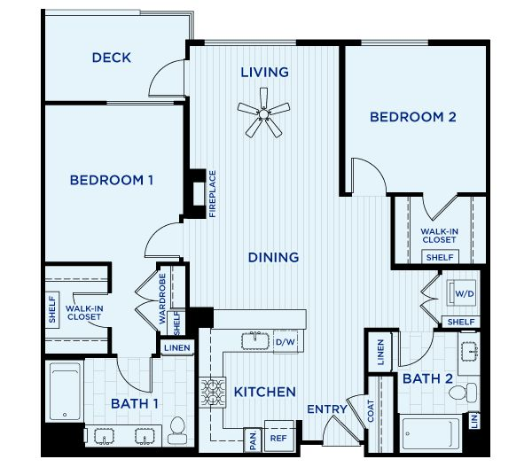17 Best Images About 1 Bedroom Floorplans On Pinterest Bellinis Apartment Floor Plans And Orlando