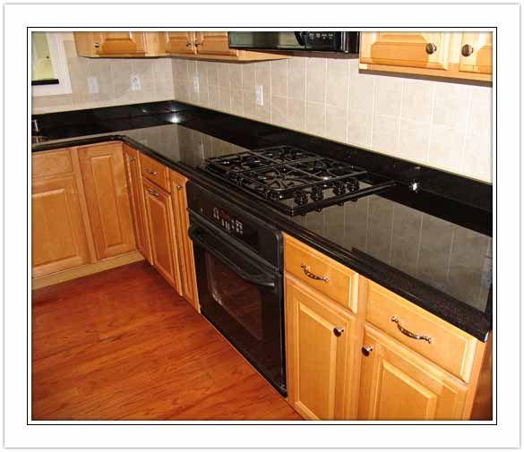 Kitchen Ideas With Black Countertops: Best 25+ Black Granite Ideas On Pinterest