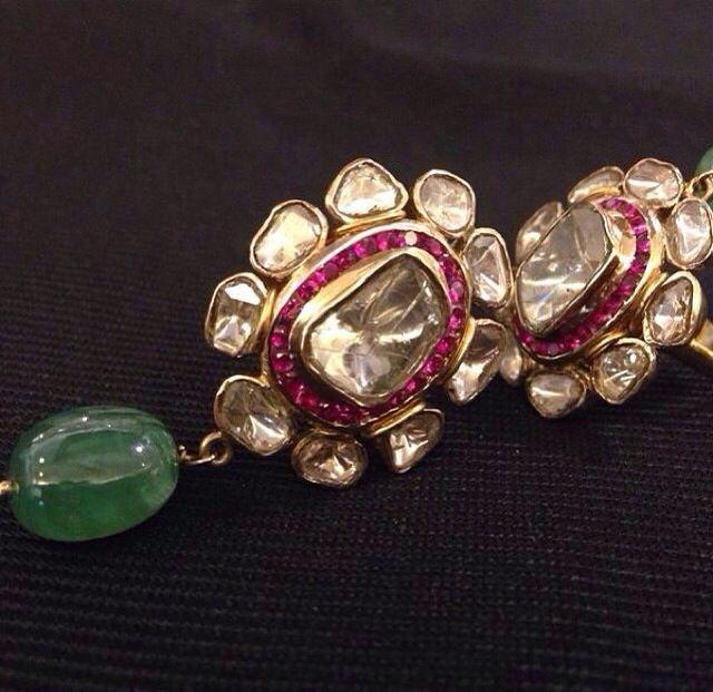 Earrings #Indian #Jewellery