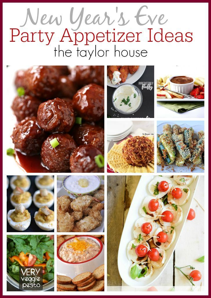New Years Eve Appetizer Ideas The Taylor House Appetizer Recipes New Year S Eve Appetizers Recipes