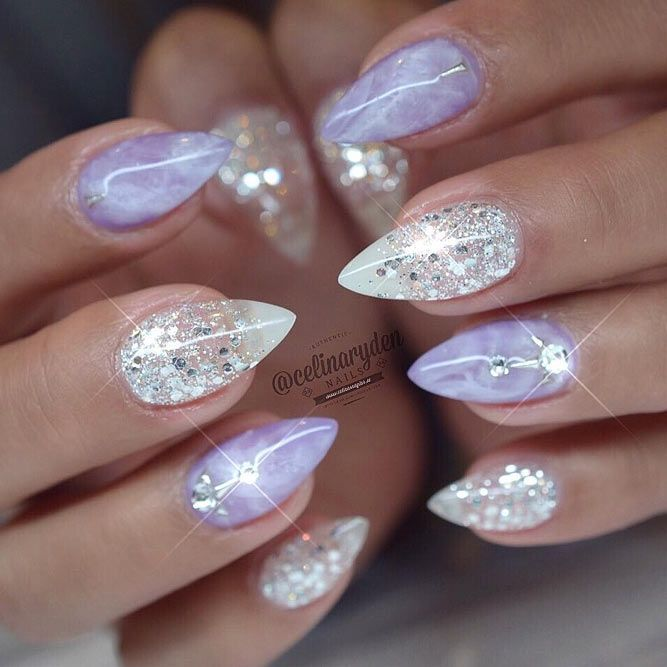 30 Best Designs For Short Stiletto Nails That Will Catch Your Eye – nails