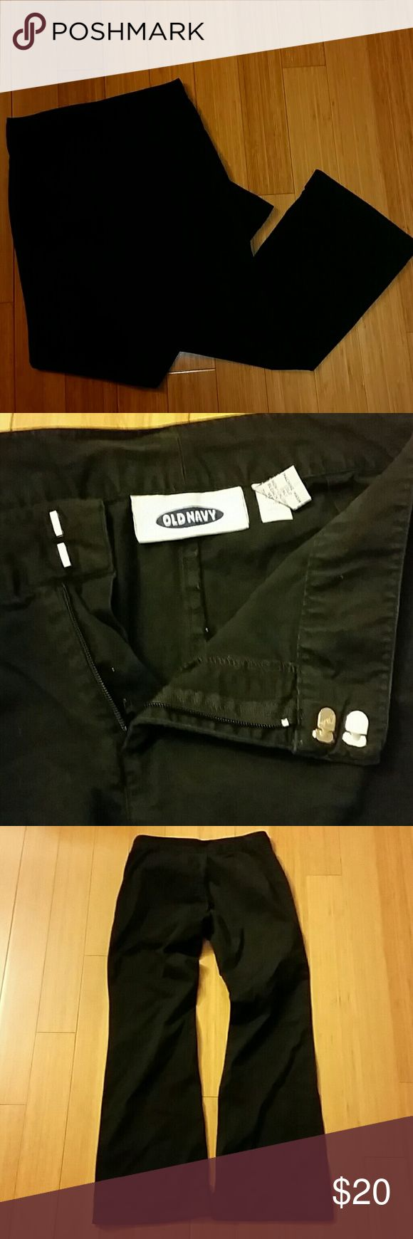 """Old Navy Dress pants Old Navy Dress pants 30"""" inseam 30"""" waist french cuff Old Navy Pants Boot Cut & Flare"""