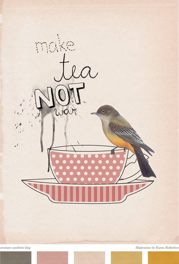 .Teas Inspiration, Teas Time, Teas Cups, Teaparty Ideas, Teatime Quotes, Parties Ideas, Wars, Teas Parties, Teas Stuff