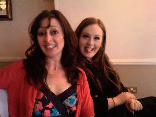 Adele And Her Lovely Mom Adele Pinterest Mom And Adele