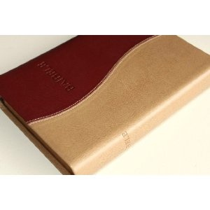 BAIBELE / Bemba Language Bible / Dual Tone Leather Bound with Golden edges / Baibele wa Mushilo uwabamo Icipingo ca Kale ne Cipingo cipya / OV052   $69.99
