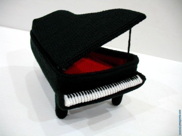 Crochet Pattern - PIANO - NEW - Toys - PDF. $5.99, via Etsy.