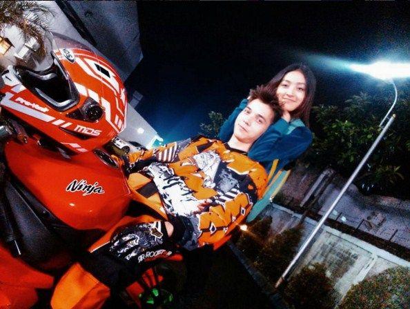 Tampil Keren Dengan Motor Gede, Stefan William Ternyata Pernah Kecelakaan | Kabarmaya.com