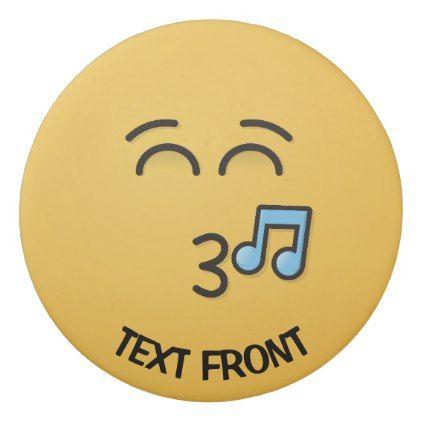 #Whistling Face with Smiling Eyes Eraser - #emoji #emojis #smiley #smilies