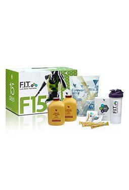 Unser F15™-PROGRAMM ist der Einstieg, um in 15 Tagen zu einem gesünderen Lebensstil zu finden. Mit einem ausgefeilten Ernährungs- und Workoutplan fällt dir alles viel leichter. DasF.I.T.-KONZEPT F15™ setzt auf Synergieeffekte: Gut für deinen Körper ist die richtige Mischung aus Bewegung, Ernährung sowie hochwertigen Mineralien und Vitaminen.  Egal ob Anfänger, Wiedereinsteiger oder Profi – das Forever F.I.T.-KONZEPT F15™ überzeugt mit einem sechsstufigen Aufbau, für jeden Sporttyp.