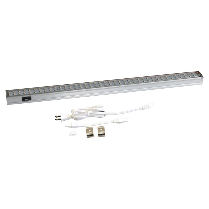 Radionic hi tech inc orly 19 in 80 led linkable under cabinet light fixture the radionic hi tech inc orly 19 in 80 led linkable under cabinet light
