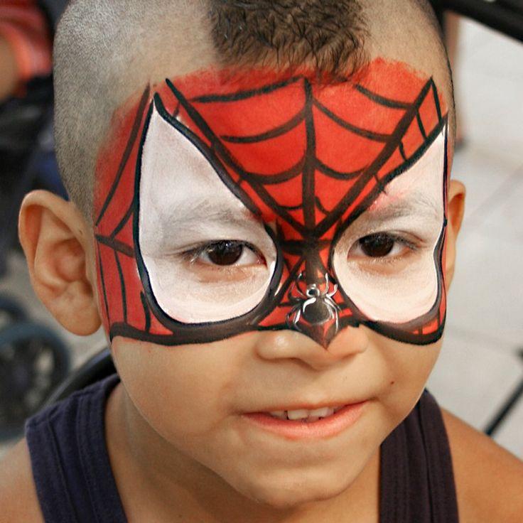 die besten 25 spiderman maske ideen auf pinterest. Black Bedroom Furniture Sets. Home Design Ideas