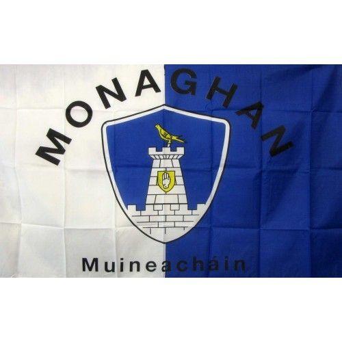 Monaghan Ireland County Flag
