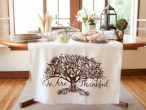 Tin Parade Table Banners.  Many styles to choose from.