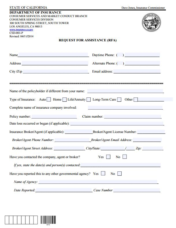 112 best Commissioners Complaint Form By State images on Pinterest - customer complaints form template