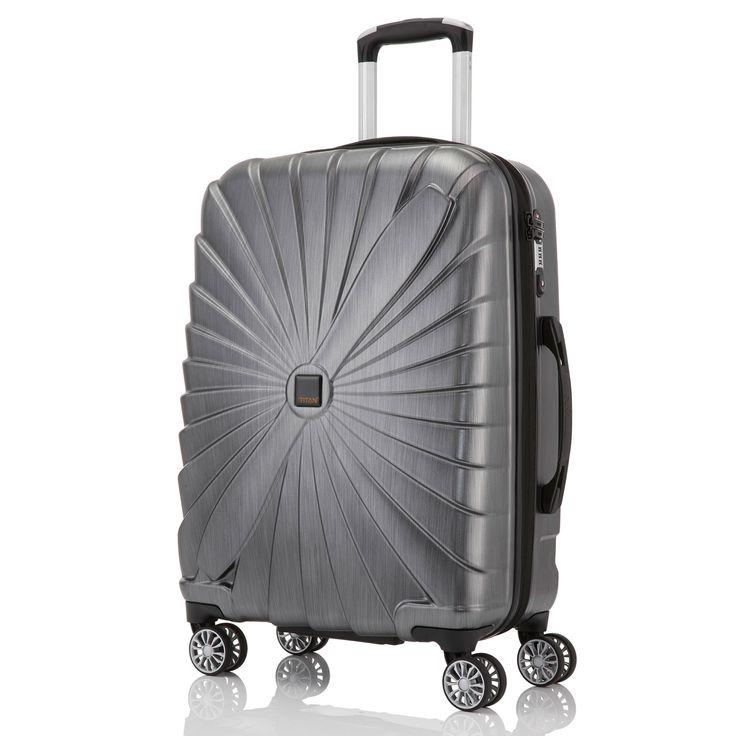 Mittlerer #Koffer TITAN Triport bei Koffermarkt: ✓anthrazit ✓4 Rollen ✓65 x 45 x 25 cm ✓Hartschalenkoffer ✓leicht ✓67 Liter Volumen