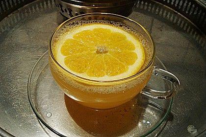Frischer Ingwer - Orangen - Tee (Rezept mit Bild) | Chefkoch.de
