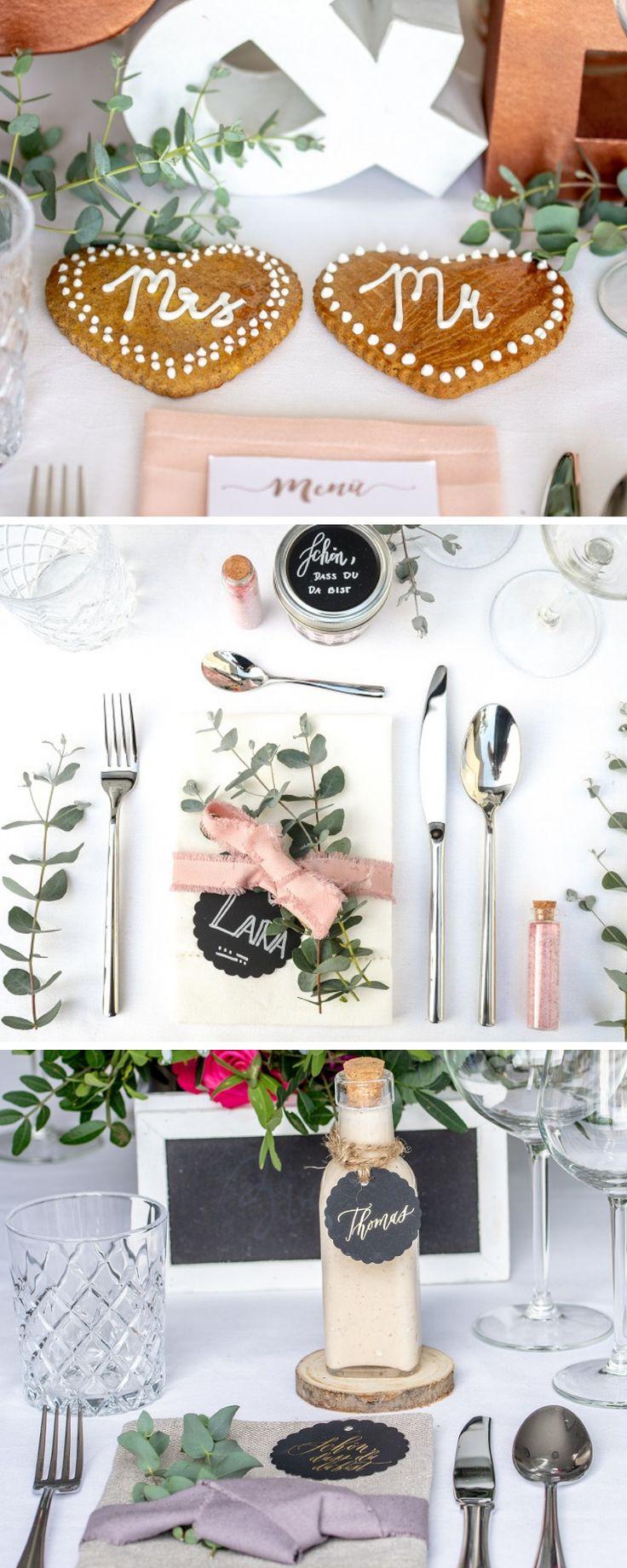 Rezepte für die Hochzeit – Torten, Candy Bar, Gastgeschenke & mehr