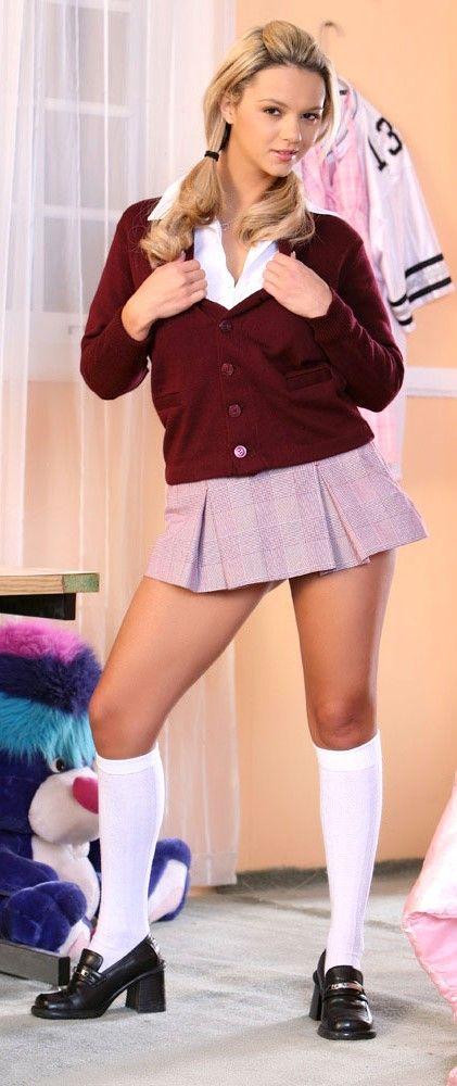 Ashlynn Brooke sexy schoolgirl