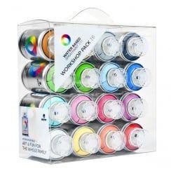 MTN Water Based Spray Paint Workshop Pack (16)