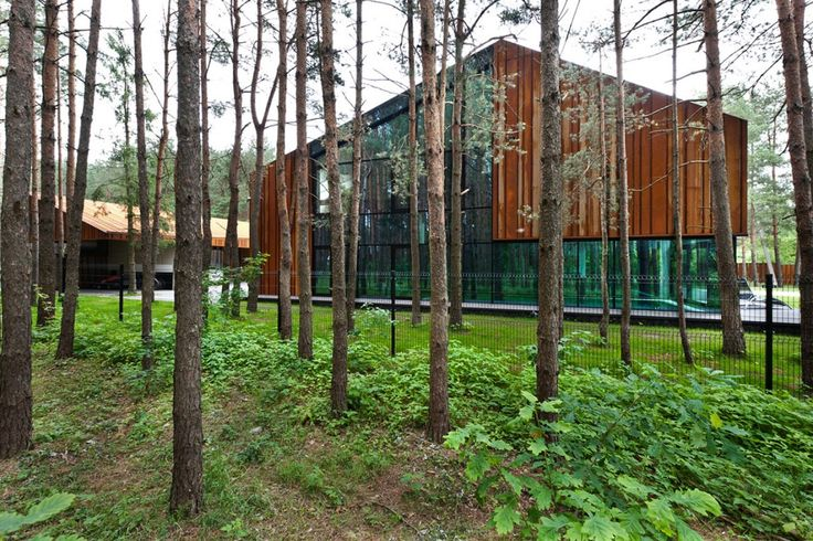 Дом в лесу, в Каунасе-на Studija Archispektras (2)