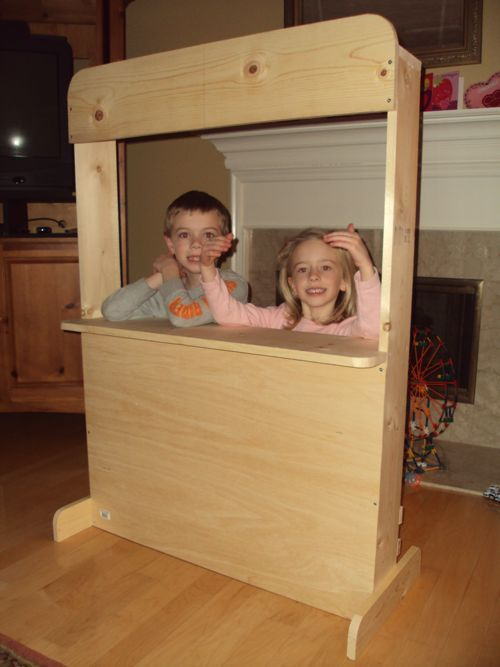 puppet stage puppet theater