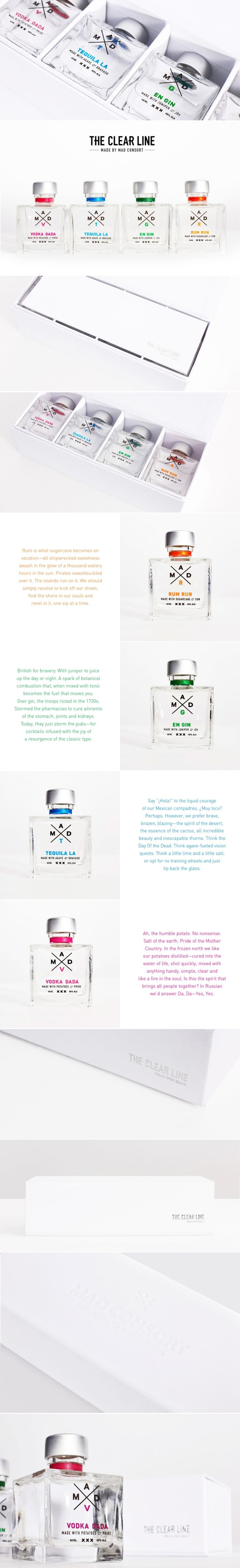The Clear Line — The Dieline | Packaging & Branding Design & Innovation News