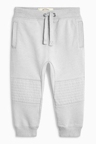 Купить Серые спортивные штаны со стегаными вставками на коленях (3 мес.-6 лет) Купить онлайн прямо сейчас на Next: Украина