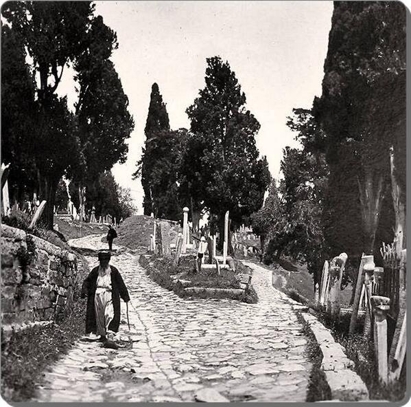 Eyüp Mezarlığı - 1900 ler