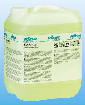 Sanikal este un detergent fara acizi si clor destinat tuturor suprafetelor din domeniul sanitar.