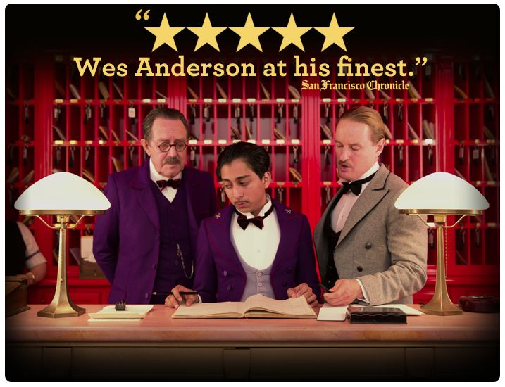 a review of the grand budapest hotel a light comedy by wes anderson Review: 'the grand budapest hotel' bob mondello looks at wes anderson's latest cinematic curiosity, the grand budapest hotel.
