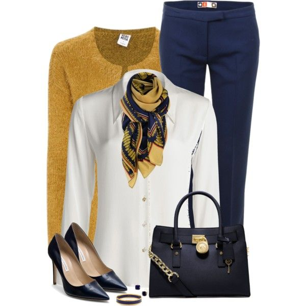 A fashion look from November 2014 featuring NIC+ZOE blouses, Vero Moda cardigans and MSGM pants. Browse and shop related looks.