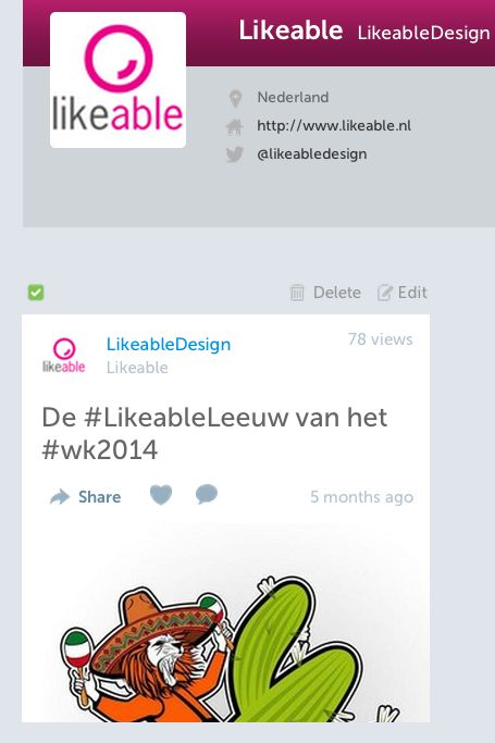 #Storify #LikeableDesign