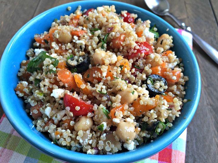 ... about Greek Quinoa Salad on Pinterest | Quinoa Salad, Quinoa and Salad