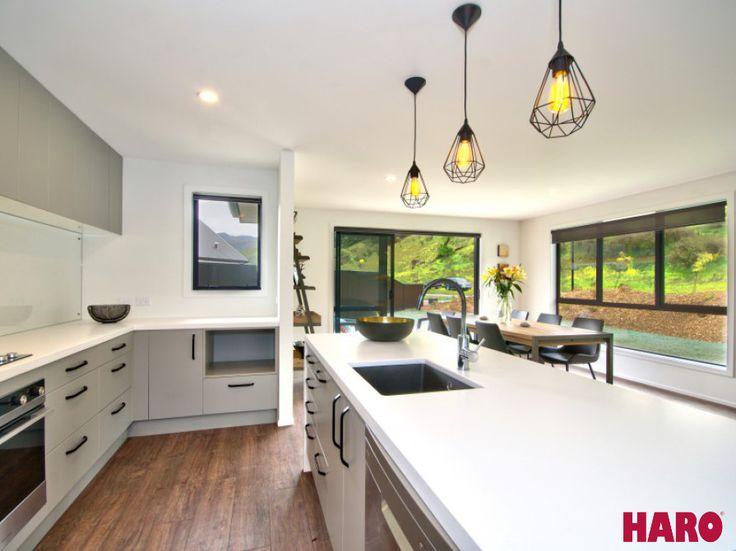 A House-Sized Fundraiser – Queenstown  Product: Laminate Flooring Plank 1-Strip Oak Kansas  #bathroomflooring #darkwood #flooring #handscrapedflooring #hardwearing #highqualitymodern #laminateflooring #madeingermany #modern #modernfloor #modernwood #newhome #qualityfloor #wideplankflooring Photo Credits: Hoamz - Real Estate #kitchen #haroflooring #kitchenflooring #rustic