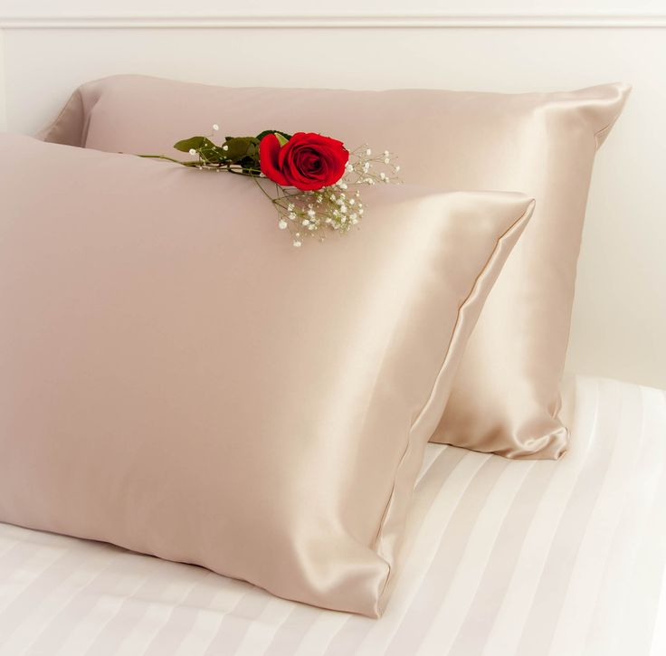 Silk Vs Satin Pillowcase Entrancing 16 Best Silk Pillowcases Images On Pinterest  Cushion Covers Decorating Inspiration