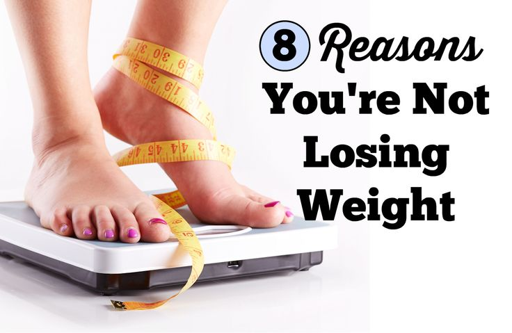 8 Reasons Why You're Not Losing Weight via @SparkPeople