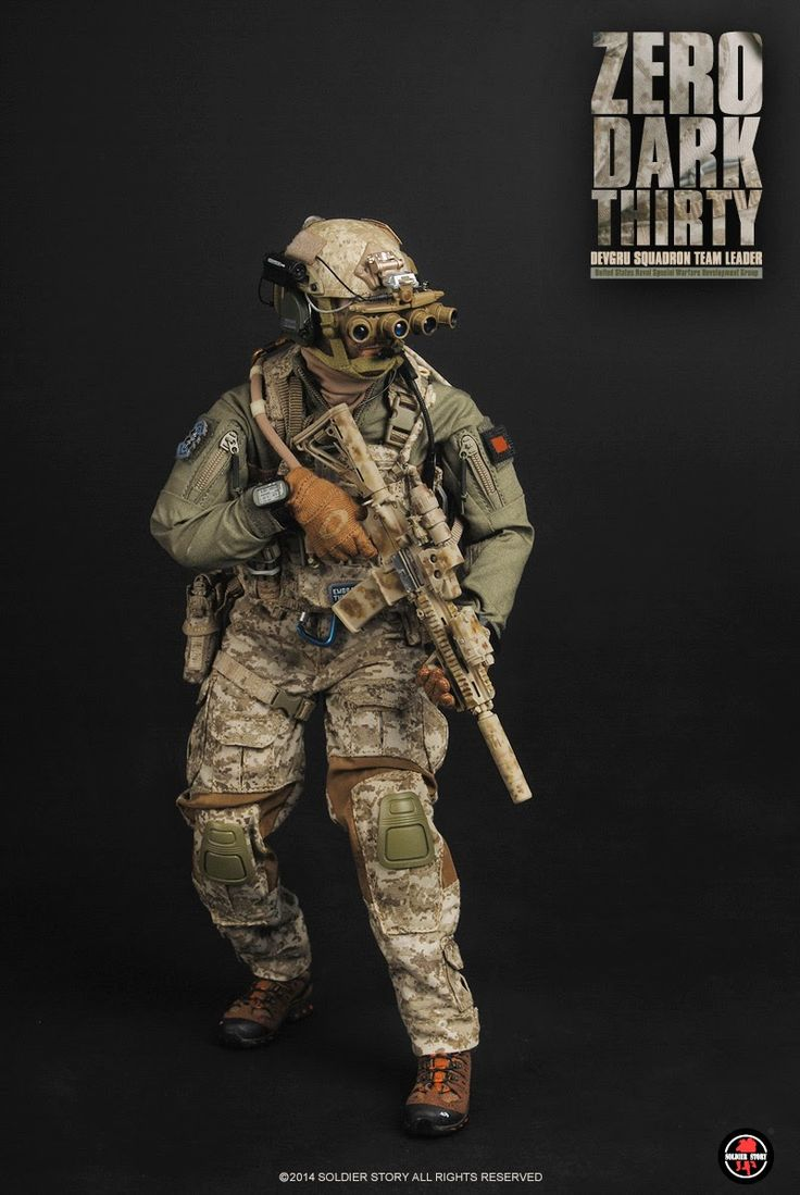 devgru commando from zero dark thirty one sixth scale
