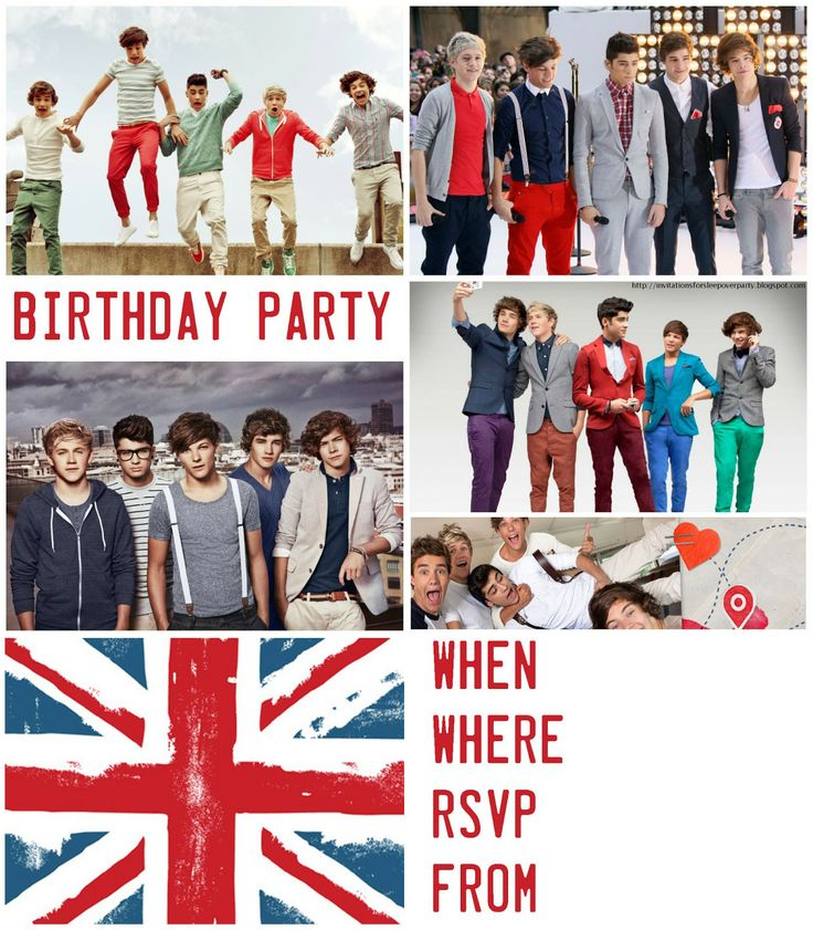 215 best one direction party images on pinterest | decorated shoes, Printable invitations