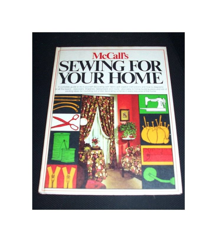 Sewing For Your Home Book McCall's DIY Ways For Decor And All Rooms For Your Home Do It Yourself Home Decor Sewing Book ICreateAndCollect by ICreateAndCollect on Etsy