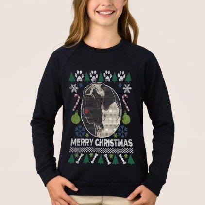 #Bull Mastiff Dog Breed Ugly Christmas Sweater - #mastiff #puppy #dog #dogs #pet #pets #cute