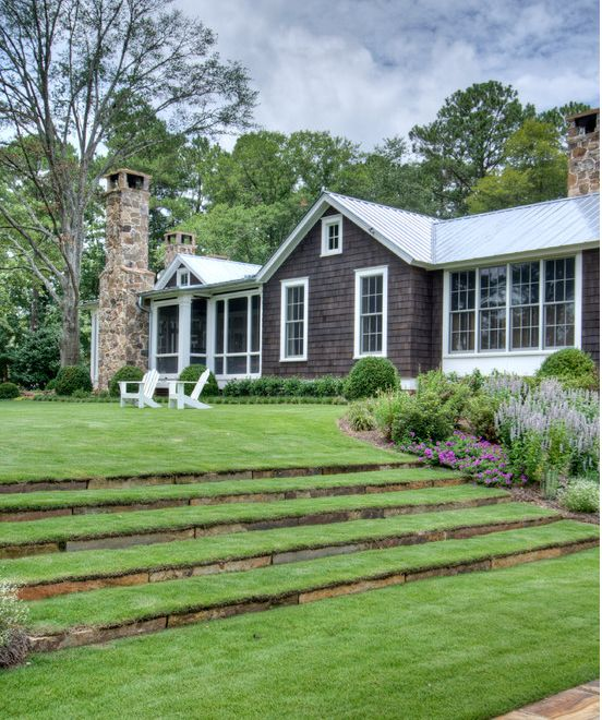Landscaping Ideas For Sloped Front Yard: 17 Best Images About Landscaping A Slope On Pinterest