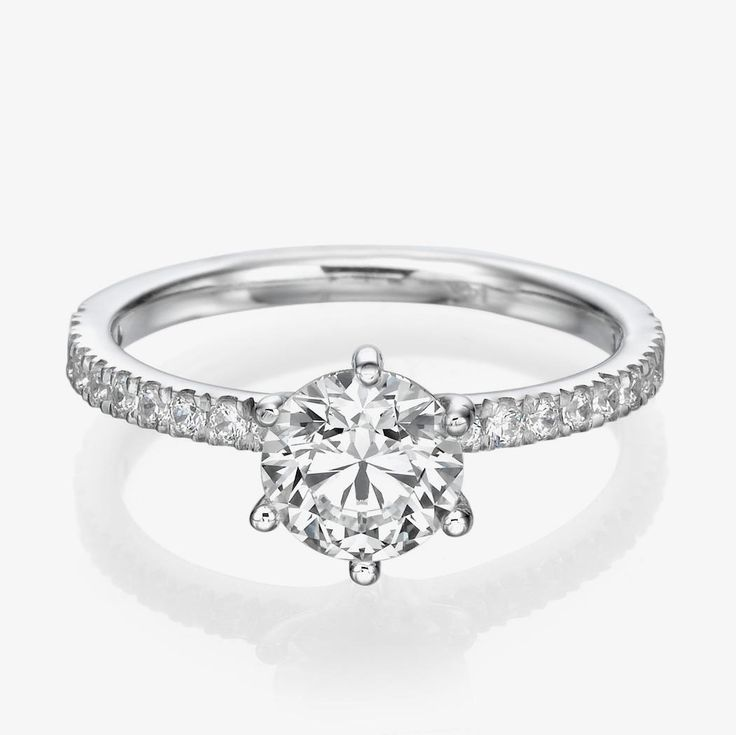 Spectacular NEW CT Diamond Engagement Ring D SI K White Gold Enhanced Round