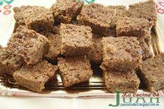 El Flapjack es una barra dulce a base de avena y miel de caña de la cocina británica y de la Commonwealth, es un dulce muy energético y podría sustituir una comida pues los deportistas la utilizan como barra energética, de un sabor muy agradable.