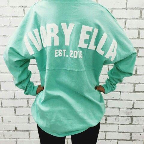 Mint Ivory Ella sweatshirt. SOMEONE BUY ME THIS