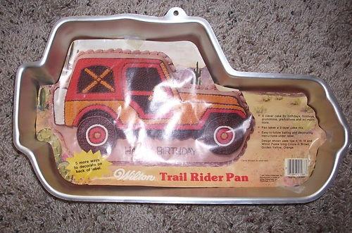 Jeep Wrangler Cake Pan