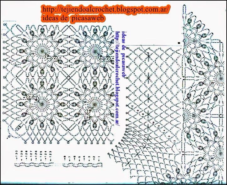 Contemporáneo Patrones De Hilo Crochet Libre Tía Lydia Imagen ...