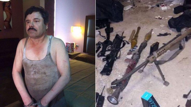 Agentes de la Marina de México realizaron operativos simultáneos en diferentes colonias de la localidad donde habían detectado la presencia del jefe del Cártel de Sinaloa