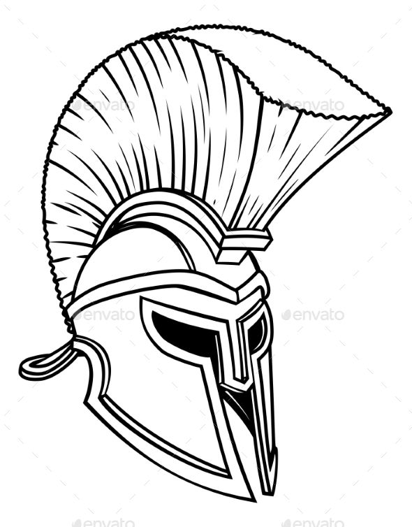A warriors ancient Greek Spartan, Roman gladiator or