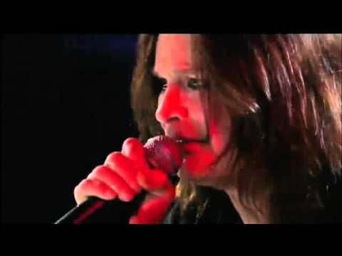 (5:06) Metallica & Ozzy Osbourne Iron Man + Paranoid live in the Rock N Roll Hall ....mpg