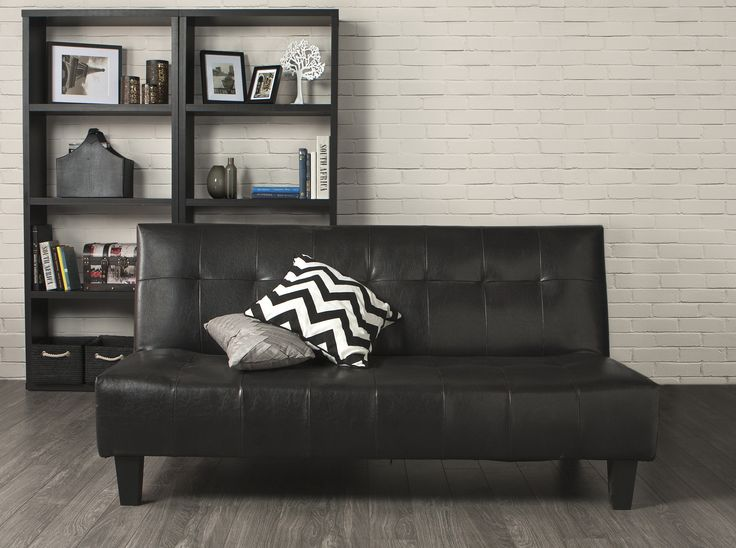 A Sleek Leatherette Sofa Sleeper Bed From Jysk At Price You Won T Have To Sleep On